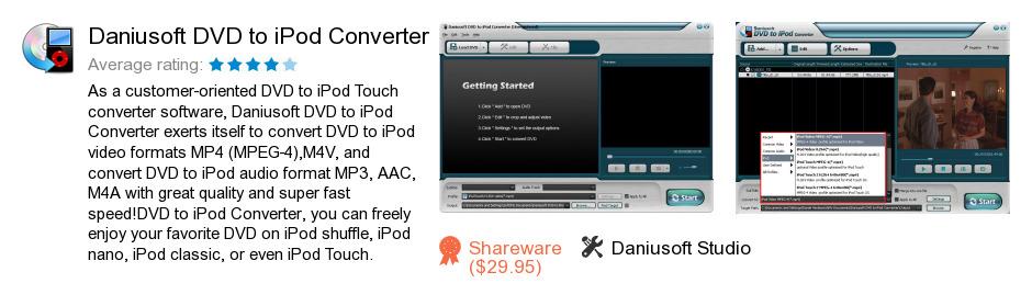 Daniusoft DVD to iPod Converter