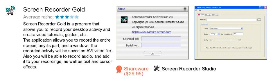 Screen Recorder Gold