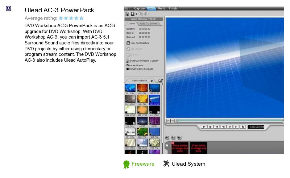 Ulead AC-3 PowerPack