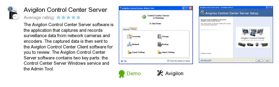 Avigilon Control Center Server