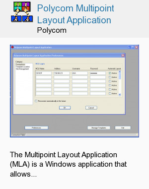 Polycom Multipoint Layout Application