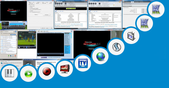 Software collection for Play Boy Channel Live