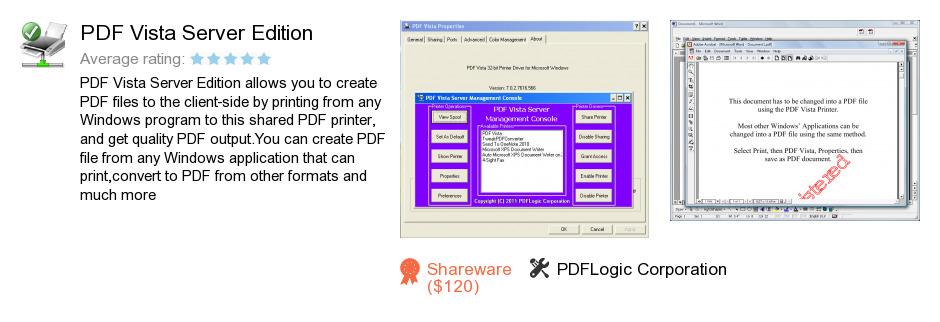 PDF Vista Server Edition
