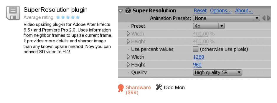 SuperResolution plugin