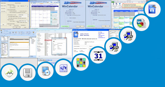 Software collection for Gantt Chart Word 2007