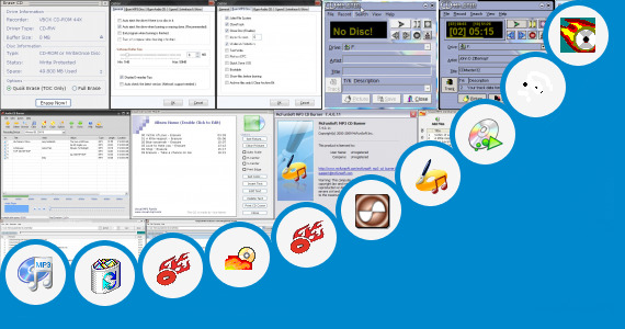Software collection for Mp3 Burner For Car Tape