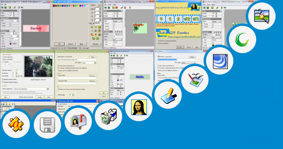 Software collection for Animated Illusion Creator Software