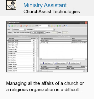 Ministry Assistant