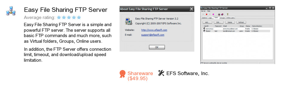 Easy File Sharing FTP Server