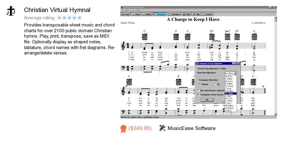 Christian Virtual Hymnal