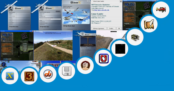 Software collection for Videos Games Land Airplanes