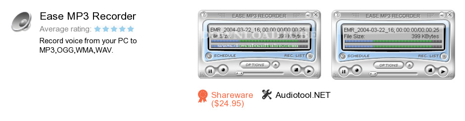 Ease MP3 Recorder