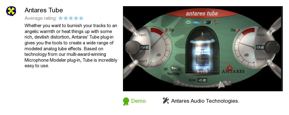 Antares Tube