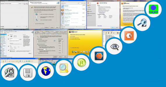Software collection for Visio Files Web Search Engine