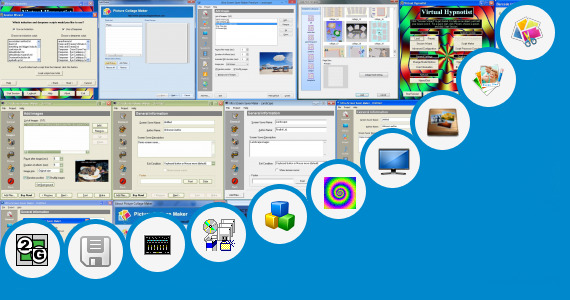 Software collection for Virtual Poster Maker Free