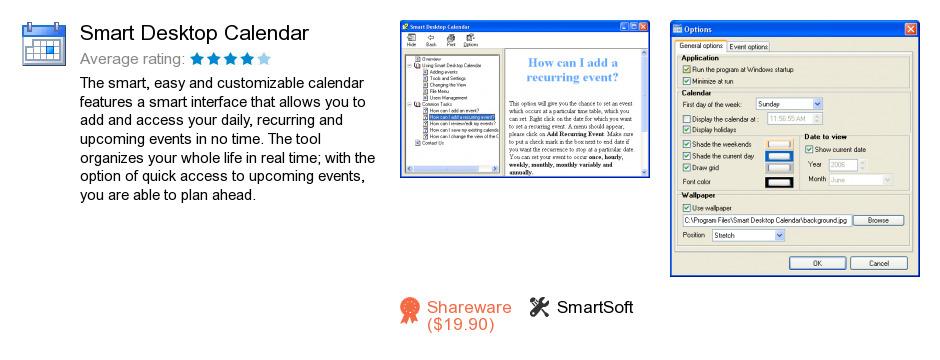 Smart Desktop Calendar