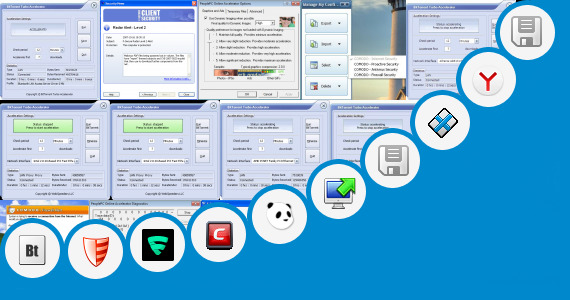 Software collection for Turbo X Internet Security
