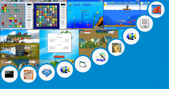 Software collection for Game Fishing Joy Pc