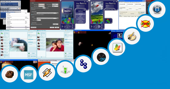 Software collection for Windows 7 Original Skin Pack