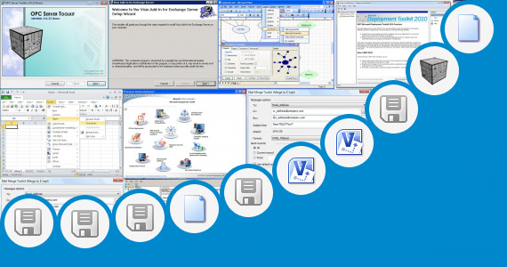 Software collection for Visio 2010 Toolkit