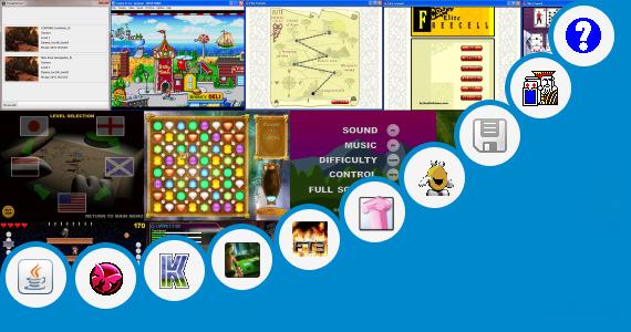 Software collection for 3d Gangster Games Jar