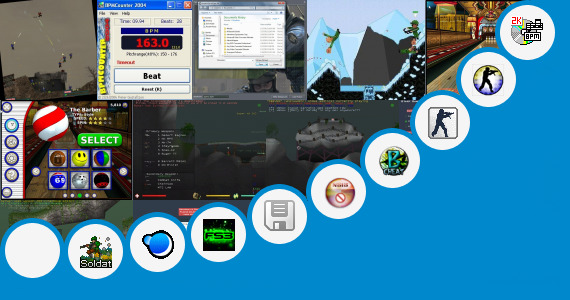 Software collection for Counter Strike 16 Theme