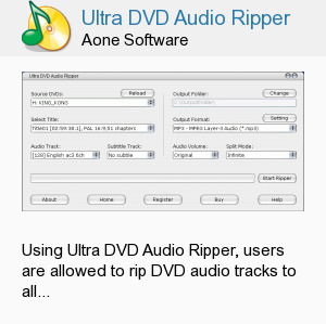 Ultra DVD Audio Ripper