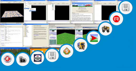 Software collection for Emergency Vehicle Simulator Game