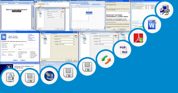 Software collection for Word 2010 Wordperfect Import