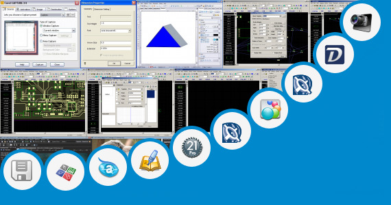 Software collection for Corel Draw Smart Designer