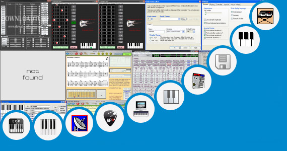 Software collection for Chord Keyboard Lengkap