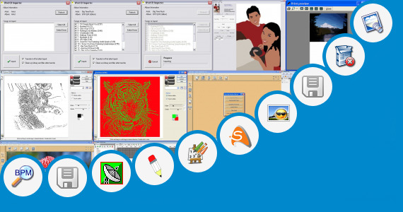 Software collection for Artists Outline Human