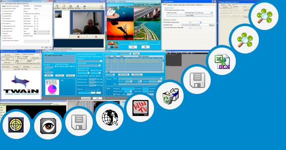 Software collection for Web Control Ocx H264 Surveillance