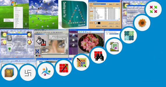 Software collection for Animated Cross Stitch Pattern