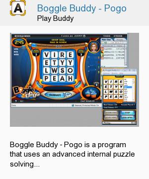 Boggle Buddy - Pogo