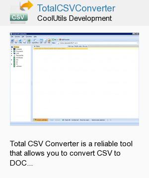 TotalCSVConverter