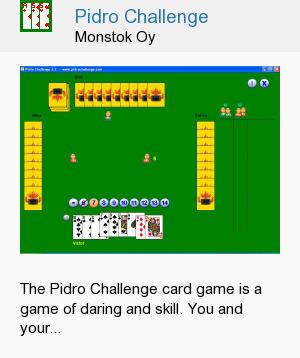 Pidro Challenge