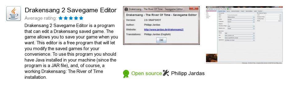 Drakensang 2 Savegame Editor