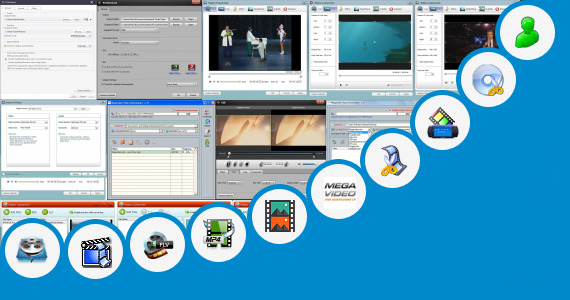 Software collection for Software To Upgrade Video Quality