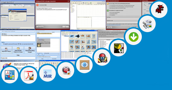 Software collection for Usenet Image Preview