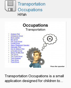 Transportation Occupations