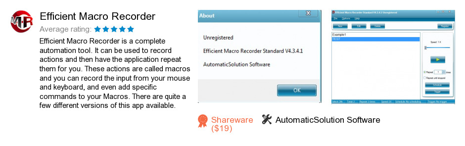 Efficient Macro Recorder