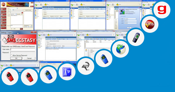 Software collection for Online Sms Sender Receiver
