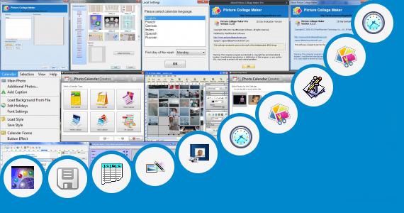 Software collection for Desk Photo Calendar Maker