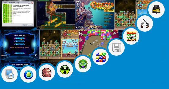 Software collection for Kindle Fire Free Match 3 Games