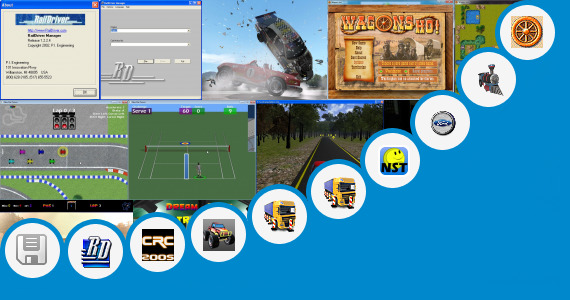 Software collection for Indian Railways Train Driving Games