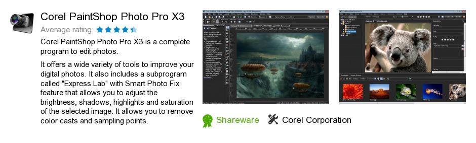 Corel PaintShop Photo Pro X3