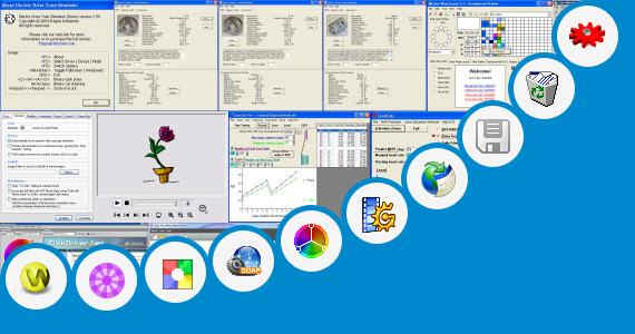 Software collection for Gear Wheel Designer Software