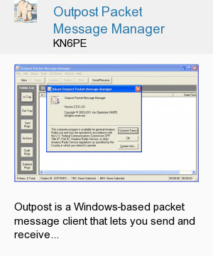 Outpost Packet Message Manager