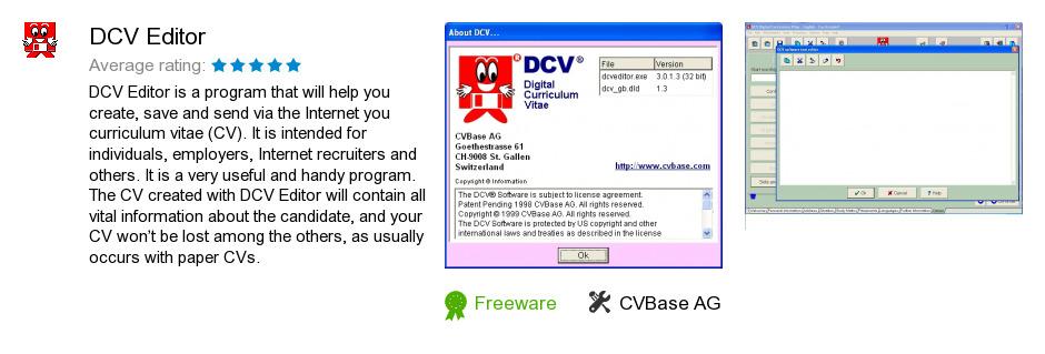DCV Editor